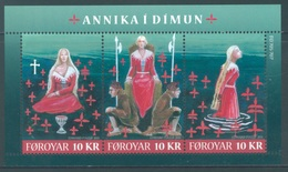 FEROE -  MNH/*** LUXE - 2011 - ANNIKA I DIMUN - Yv  BLOC 26 -  Lot 18336 - Féroé (Iles)
