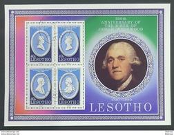 Lesotho 1980 , Josiah Wedgwood , Used - Lesotho (1966-...)