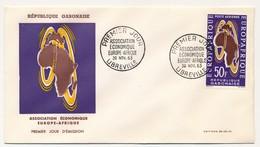 GABON => FDC => Association économique Europe Afrique - 30 Novembre 1963 - LIBREVILLE - Gabon