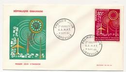 GABON => FDC => 2eme Anniversaire De L'U.A.M.P.T - 8 Sep 1963 - LIBREVILLE - Gabon (1960-...)