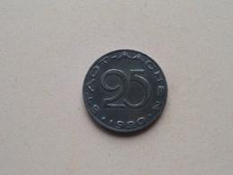 25 Pfennig - STADT AACHEN 1920 ( NOTGELD - For Grade, Please See Photo ) ! - Noodgeld