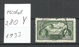 POLEN Poland 1933  Michel 280 Y O Michel 150 EUR ! RRR - Gebraucht