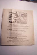 NAUTISME   -  KAYAK  PNEUMATIQUE - PUBLICITE - Advertising