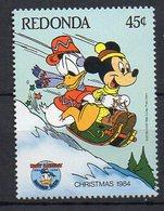 REDONDA. DISNEY. MNH (1R1002) - Disney