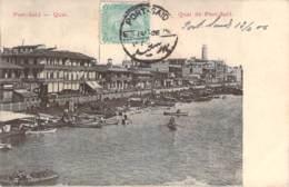 Egypte - Port-Saïd - Quai De Port-Saïd - Port Said