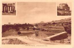 Syrie - Baalbek - L'Entrée De La Ville (publicité Palmyra Hotel) - Syrie
