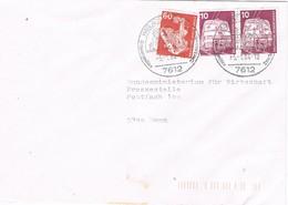 30672. Carta HASLACH (Alemania Federal) 1984. Echwarzmälder - [7] República Federal