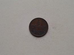 1 Pfennig DANZIG - 1937 ( For Grade, Please See Photo ) ! - [ 4] 1933-1945 : Third Reich