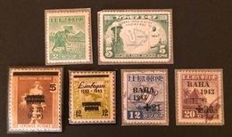 PHILIPPINES Occupation Japonaise YT 1942/43 N°6-10 Et 1943 N°16-29-30-31-33-34 Et 1944 N°5 - Philippines