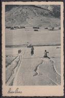 Buon Anno Paesaggio Invernale - Pista Da Sci. - Cartoline
