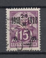 Estland Estonia 1928 Michel 71 C: 2 Variety On Thin Paper Type RAR - Estonia