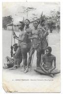 CONGO FRANCAIS - Guerriers Oudombo - Haut Ogooué - Congo - Brazzaville