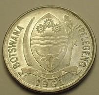 1991 - Botswana - 10 THEBE - KM 5 - Botswana