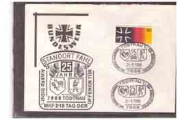 DE2249   -  TODTNAU  21.6.1986   /   25 JAHRE BUNDESWEHR-STANDORT FAHL - Militaria