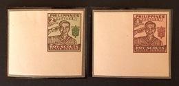 PHILIPPINES YT 1949 N°351-352 Non Dentelé - Philippines