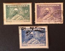 PHILIPPINES UPU YT 1949 N°353 à 355 Oblitérés - Philippines