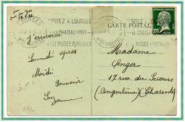 France Type Pasteur N° 172 Y. Et T. Flamme Lourds Htes Pyrénées Du 20/05/1926 - 1921-1960: Période Moderne