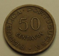 1957 - Angola - 50 CENTAVOS - KM 75 - Angola