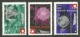 RUSSIA 1967 SPACE WORLDS FAIR MONTREAL SET MNH - 1923-1991 USSR