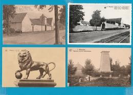 BELGIË Waterloo, Lot Van 62 Postkaarten, Cartes Postales - Postkaarten