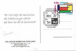 30678. Postal BARCELONA 2007, Dia De La Quimica. Fotos Quimicos - 1931-Hoy: 2ª República - ... Juan Carlos I