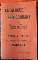 Réédition Du Premier Catalogue De Cotation YVERT ET TELLIER De 1897 - France
