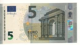 "5 EURO  ""France""     DRAGHI   U 004 G4    UD6077038203 /  FDS - UNC - EURO"