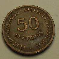1958 - Angola - 50 CENTAVOS - KM 75 - Angola