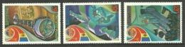 RUSSIA 1981 SPACE SOVIET ROMANIAN FLIGHT SET MNH - 1923-1991 USSR