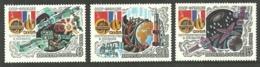 RUSSIA 1982 SPACE SOVIET FRENCH FLIGHT SET MNH - 1923-1991 USSR