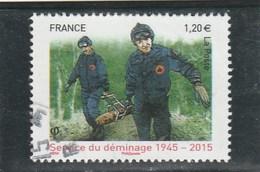 FRANCE 2015 SERVICE DU DEMINAGE 1945-2015  OBLITERE YT 4927 - - France