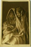 AFRICA - TUNISIA -  LA JEUNE MERE - EDIT LEHNERT & LANDROCK ( 120 ) 1920s ( BG1494) - Tunisia