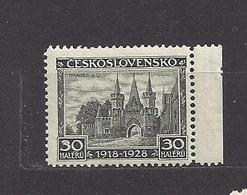 Czechoslovakia 1928 MNH ** Mi 267 Sc 142 10. Year Anniversary Of The Republic. 10 Jahre Republik. - Neufs