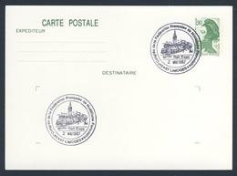 France Rep. Française 1987 Card / Karte / Carte- 34e Congres Fédération Française Modélisme Ferroviaire, Model Rail Expo - Treinen