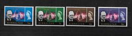 Gibraltar, 1966 Churchill Commemorative, Complete Set Very Lightly Hinged (7257) - Gibraltar