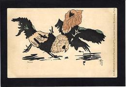 CPA SLOOG Les Maitres De La Carte Postale 1899 Art Nouveau Non Circulé Combat De Coqs - Autres Illustrateurs