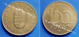 HUNGARY 100 Forint 1995 CROWNED ARMS - Hongrie