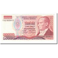 Billet, Turquie, 20,000 Lira, 1988, L.1970, KM:201, SUP+ - Turquie