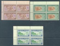 TOKELAU -  MNH/** - 1948  - Yv  1-3 -  Lot 18341 - BLOC OF 4 STAMPS - Tokelau