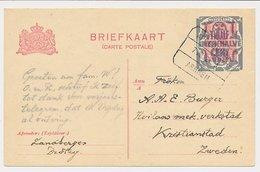 Treinblokstempel : Apeldoorn - Arnhem A 1922 - Unclassified