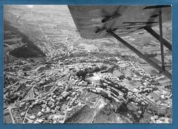 FOTO AEREA GUALDO TADINO PERUGIA PROVA PER CARTOLINE N° 47 - Perugia