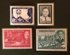 PHILIPPINES YT 1957 N°451 à 454 - Philippines