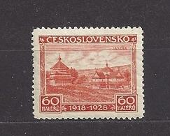 Czechoslovakia 1928 MNH ** Mi 270 Sc 145 10. Year Anniversary Of The Republic. 10 Jahre Republik. C2 - Neufs