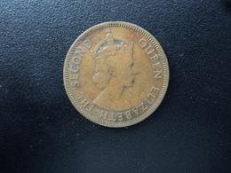 CARAÏBES ORIENTALES : 1 CENT   1957   KM 2    TTB - East Caribbean States