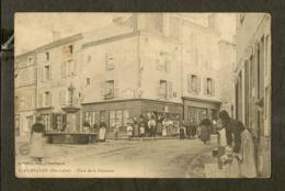 CP-PAULHAGUET - Place De La Fontaine - France
