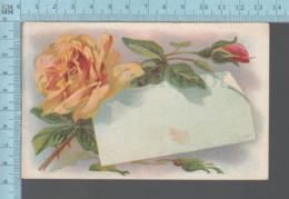 CPA - Flowers With Empty Message- Cover Lisbon N.H. 1910 With A USA Stamp - Fleurs