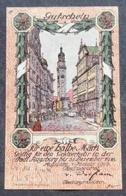 AUGSBURG - 50 Pfennig 1918 - Wz. DUNKLE KREUZE - UNC - [11] Local Banknote Issues