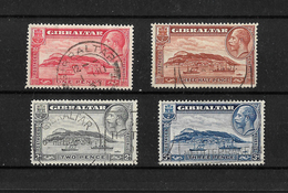 Gibraltar, 1931 KGV Rock Of Gibraltar, Complete Set Used (7264) - Gibraltar