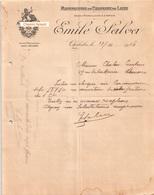 Document Du 11/11/1916 EMILE SALVA Chapeaux De Laine - Chalabre 11 - France