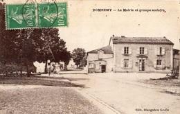 DOMREMY-LANDEVILLE LA MAIRIE ET GROUPE SCOLAIRE - Autres Communes